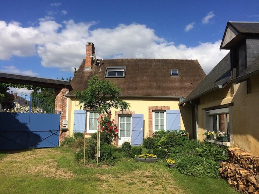 Accueil gite soutine for Amenagement petit jardin 70m2